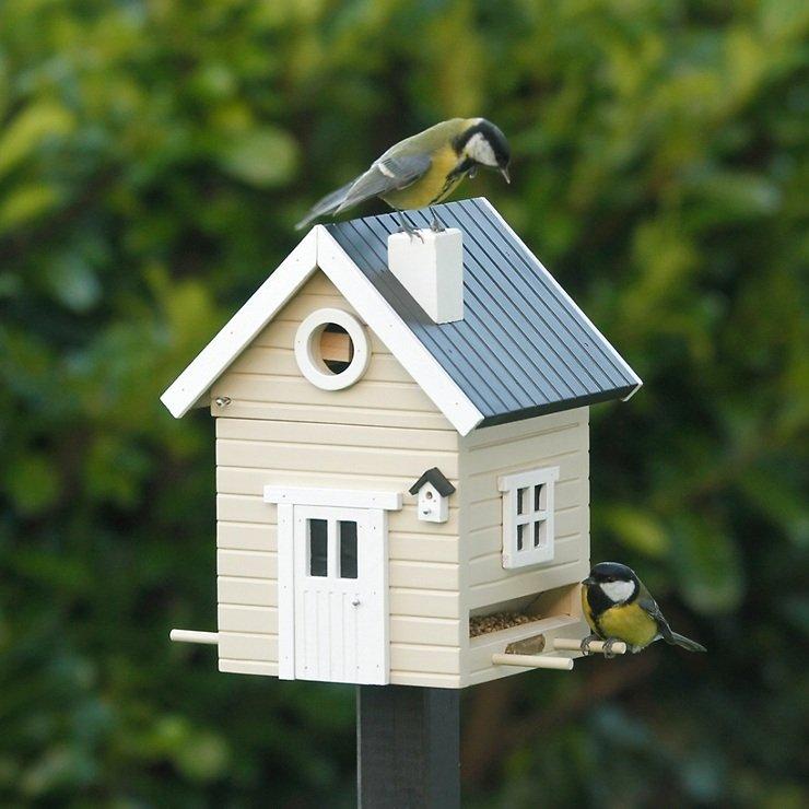 Wildlife Garden Multiholk Vogelhaus Beiges Haus - Pic 2