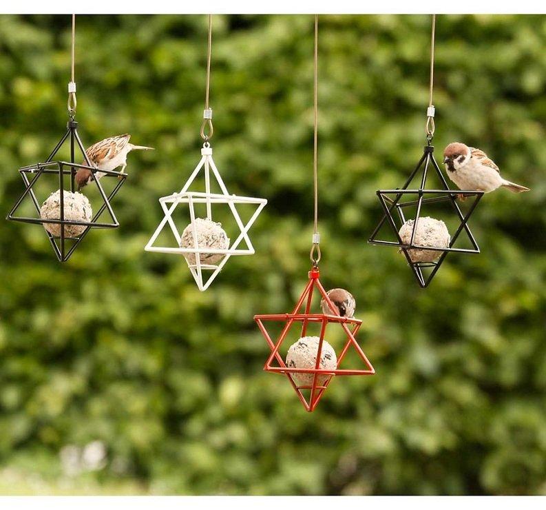 Wildlife Garden Meisenknödelspender Stern weiß - Pic 3