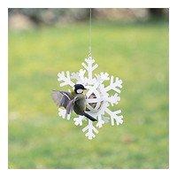 Wildlife Garden Meisenknödelspender Schneestern weiß