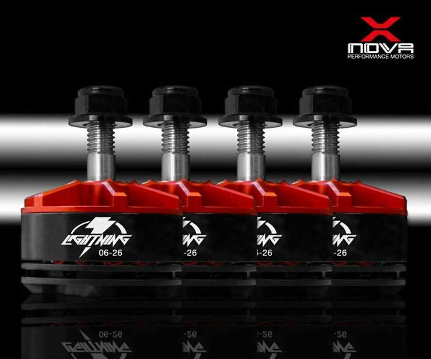 XNOVA Lightning Combo 2206 2600 KV Motor 4er Set - Pic 1