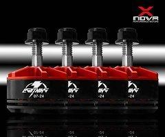 XNOVA Lightning Combo 2207 2450 KV Motor 4er Set