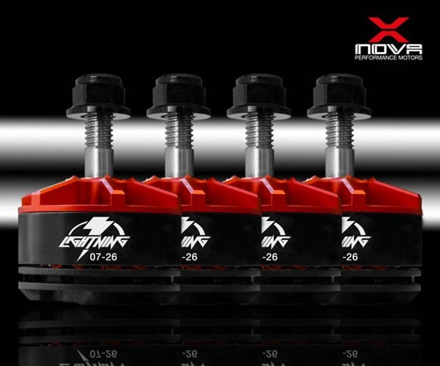 XNOVA Lightning Combo 2207 2600 KV Motor 4er Set - Pic 1
