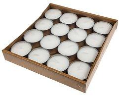 Hädicke Maxi-Teelichte weiß Aluhülle 5,8 cm 16er Box